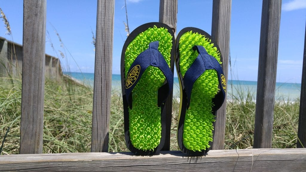 AhhSoles: Evolution of the traditional flip-flop