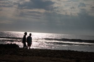 Sunrise Ocean City beache