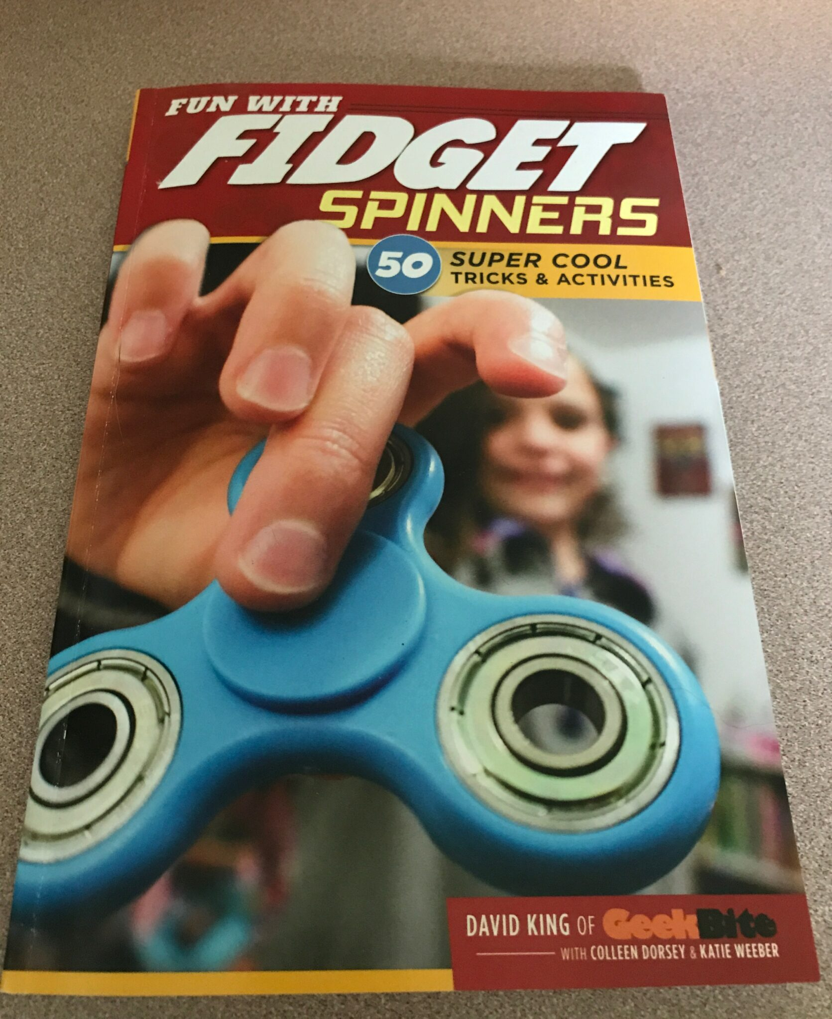 Fidget Spinner Review by Joan Mead-Matsui