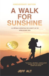 A Walk for Sunshine book review by Joan Matsui Travel Writer