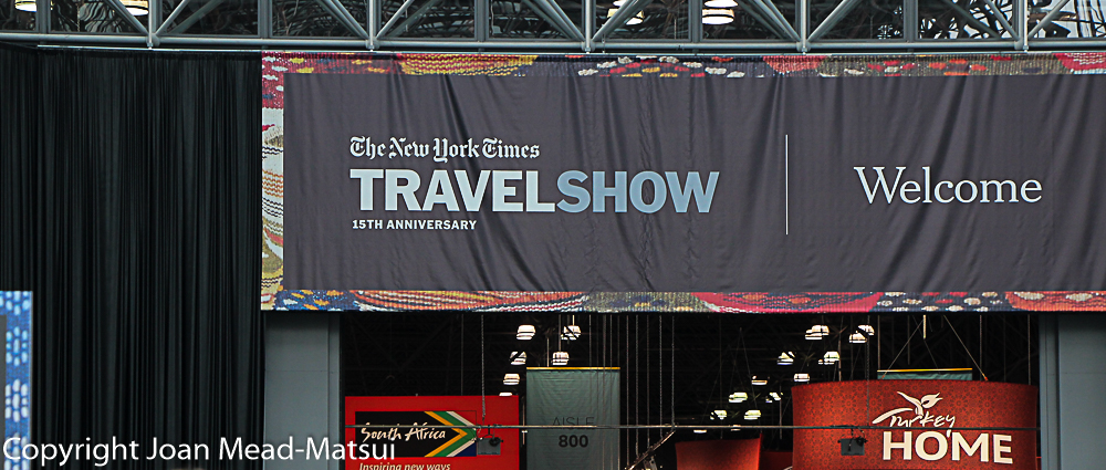The New York Times 2018 Travel Show coverage