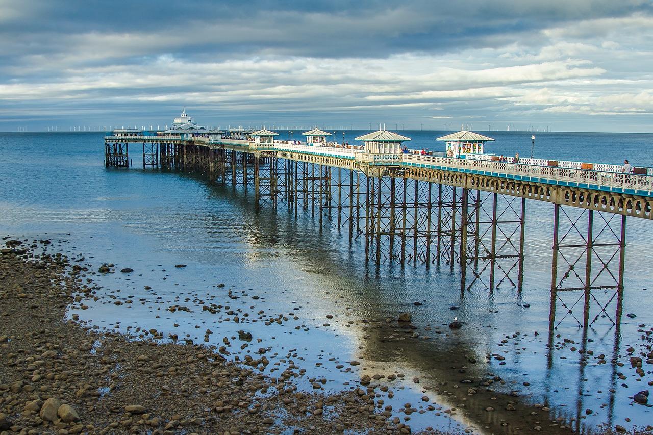 Best beaches in Wales Llandudno