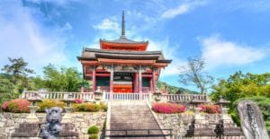 Japanese temples shrines