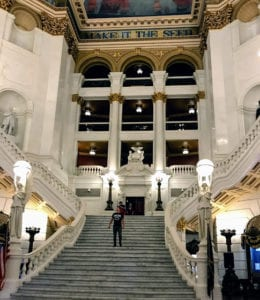 PA State Capitol Building Architecture Art