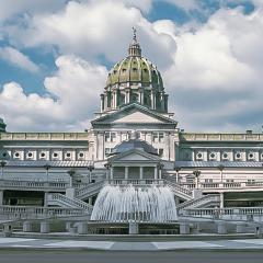 Rotunda Exterior Image PA State Capitol Complex