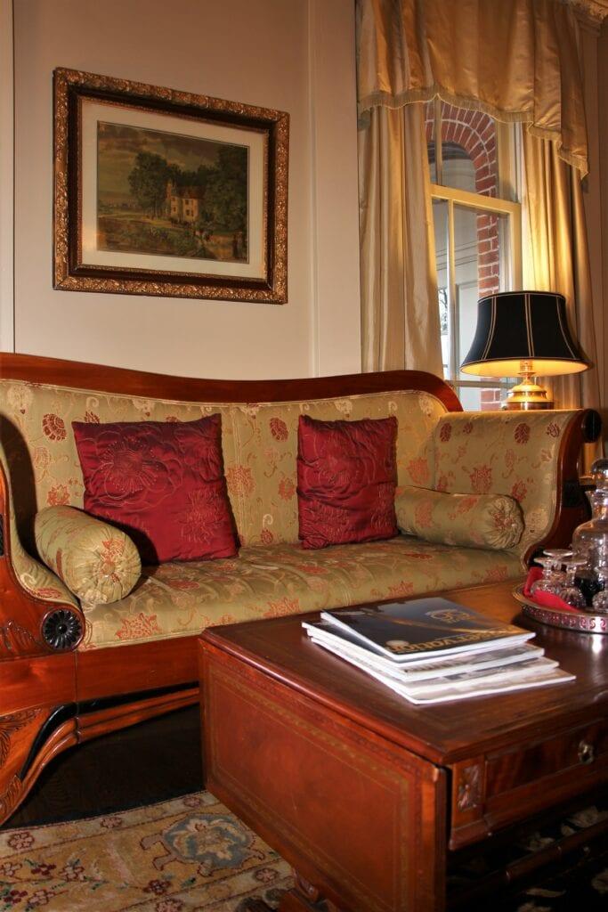 Sayre Mansion Living Room