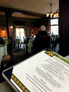 Settlers Inn menu