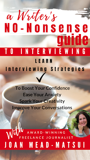 A Writer's No-Nonsense Guide to Interviewing Tips and Strategies