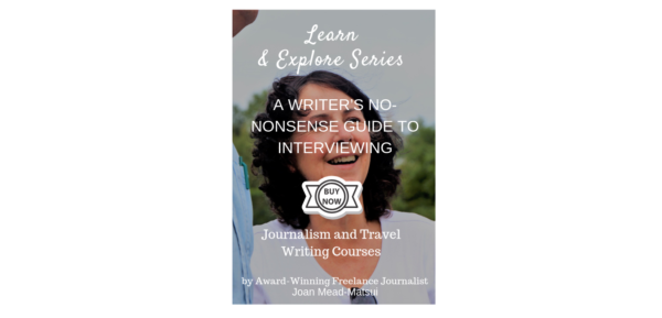 A WRITER'S NO-NONSENSE GUIDE TO INTERVIEWING