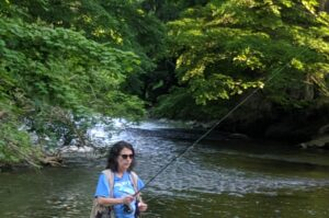 Joan Matsui Travel Writer Fly Fishing