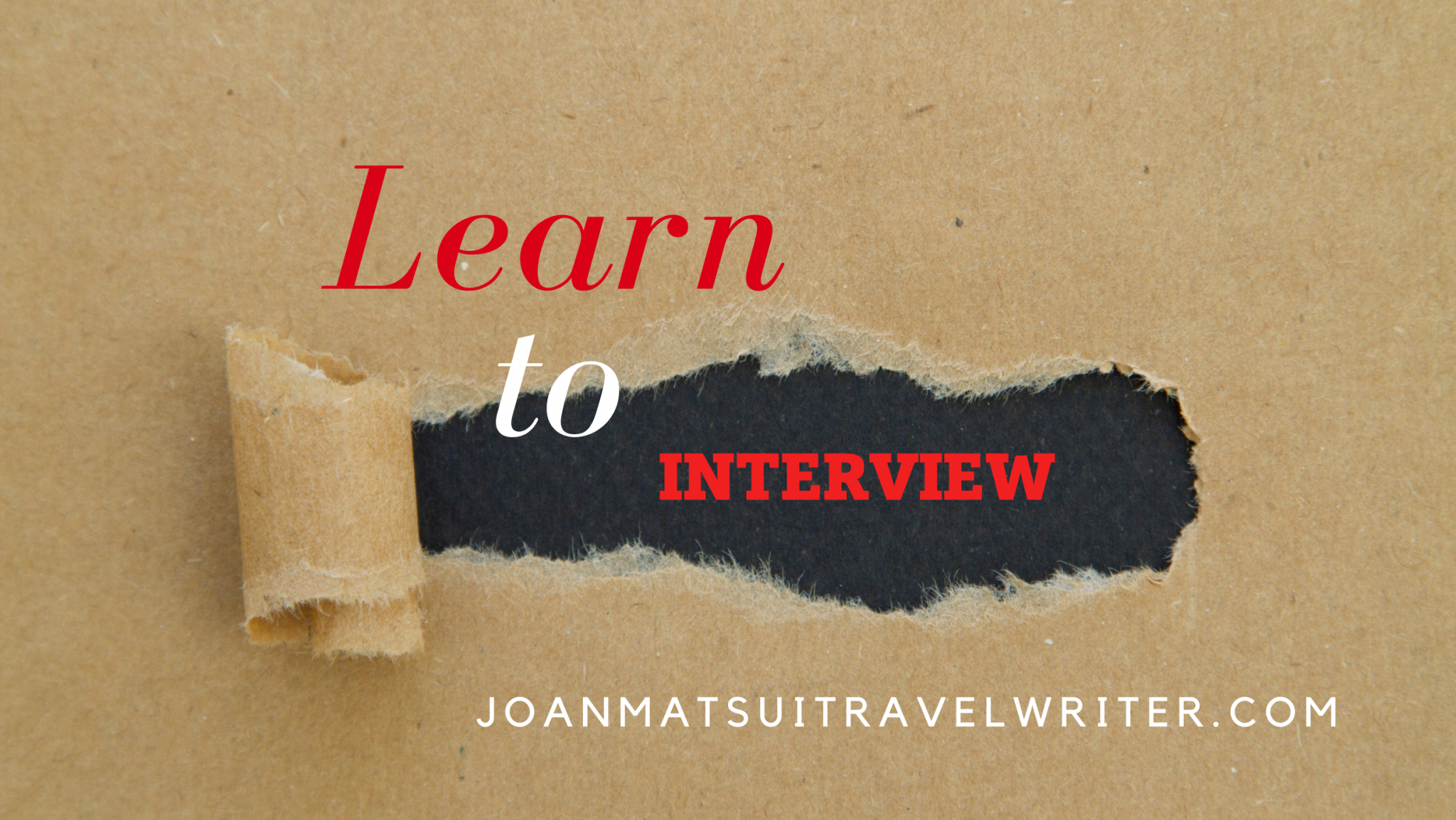 Learn to Interview with A Writer's No-Nonsense Guide to Interviewing
