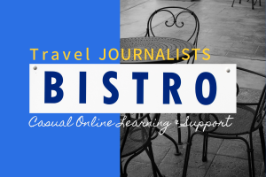 Travel Journalists Bistro is a platform that transforms travel writers into journalists.