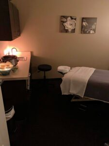 Hand & Stone Massage Therapy Room
