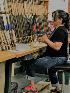 The Orvis factory tour was a treat. We saw firsthand how fly-fishing gear is made.