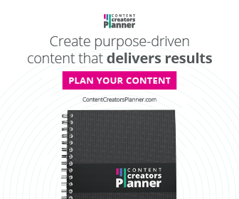 Content Creators Planner is the ultimate content creation planner for 2020
