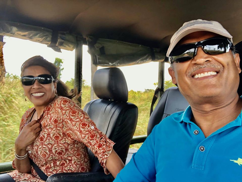 Sri Lanka Safari with Anant and Alka Patel
