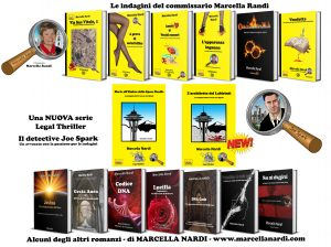 Marcella Nardi Mystery and History books