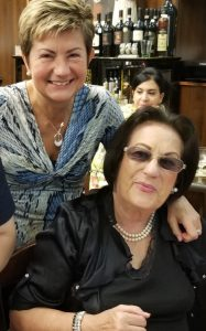 Marcella Nardi and her mother