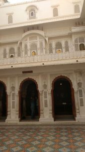 Indian architecture City Palace: Udaipur, Rajasthan