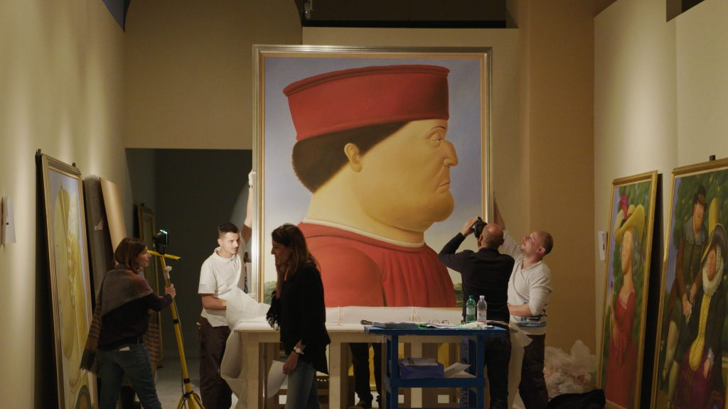 Botero Life and Art is a film review of a documentary directed by Don Millar