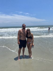 Myrtle Beach, SC is a hot vacation spot for celebrity travelers like Bryse Wilson.