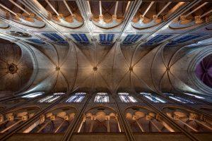Notre-Dame Pre fire interior rib vault (Photo Credit: Pascal Lemaitre)