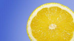 lemons are high in Vitamin C