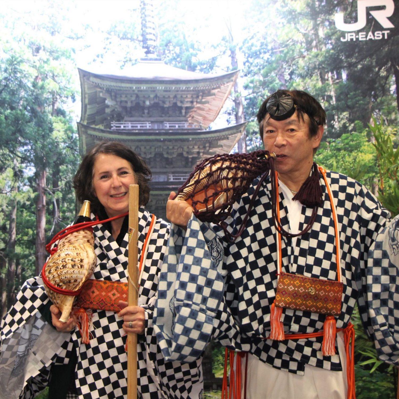 The New York Times Travel Show 2020 with Toru Masaki, Mountain Priest Teturyu and Japan tourism advisor